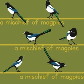 MISCHIEF of magpies 4