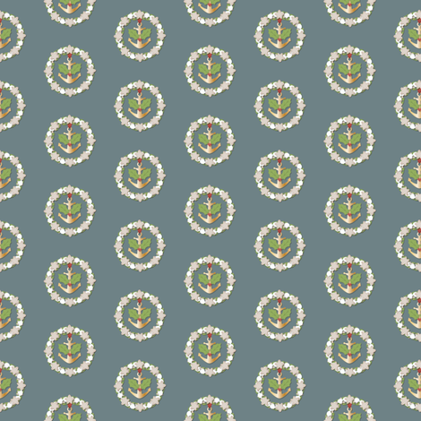 Nautical Christmas fabric by juliematthews on Spoonflower - custom fabric