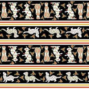 Christmas Ferret Stripe