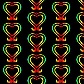 Rainbow Heart 2