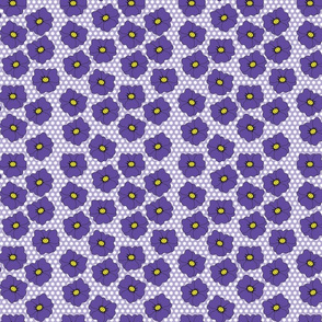 Little Violet Floral Scatter