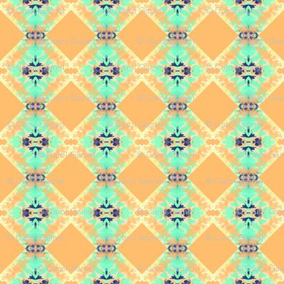 Bluegreen Adobe Squares
