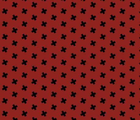 Maroon madness fabric by rileynicole on Spoonflower - custom fabric