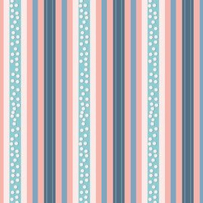 FNB4 - Mini Fizz-n-Bubble Stripes in Pink - Blue - Lengthwise