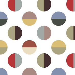 Colour Block Spots outback