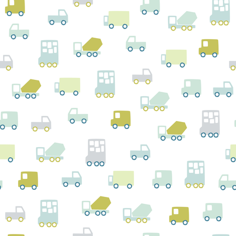 Cars fabric by hikje on Spoonflower - custom fabric