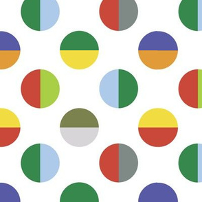 Colour Block Spots city