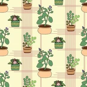 Flowerpot pattern