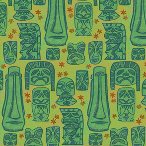 Tiki Tribe Green