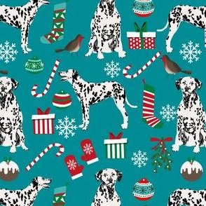 dalmatian dogs christmas fabric cute xmas holiday dog fabric dalmatians dog fabrics
