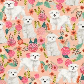 toy dogs fabric cute maltese dog design best florals fabric cute toy dogs maltese fabrics tue florals dogs