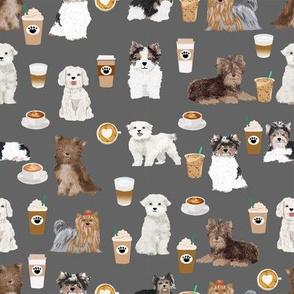 toy dogs fabric cute coffee fabrics cute toy dog fabrics cute dogs charcoal coffee fabric