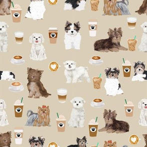 toy dogs fabric cute toy dog coffees fabric cute toy dogs fabric