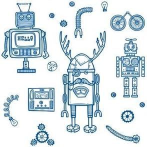 Hello Robots - Blue
