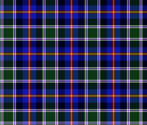 Colorado official state tartan - dark fabric by weavingmajor on Spoonflower - custom fabric