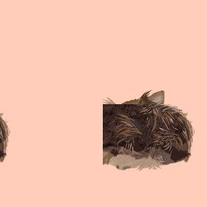 chocolate yorkie donuts fabric cute donut dogs fabric cute chocolate yorkie dogs dog fabric cute dogs