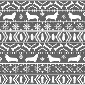 corgi christmas fabric fair isle fabric for dogs cute corgi owners will love christmas corgi fabrics