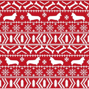 corgi christmas fabric corgi dogs fabric fair isle fabrics cute dogs fabric