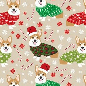 corgi sweaters fabric cute christmas dogs design christmas ugly sweaters corgis cute corgi fabrics