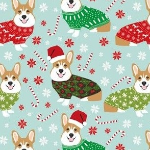 christmas corgi fabric cute ugly sweaters fabric christmas sweater fabric cute christmas dogs fabric christmas corgis