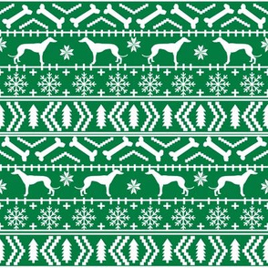 greyhounds fair isle fabric cute xmas holiday christmas fabrics christmas dogs fabric cute dogs fabric ugly sweaters fabric