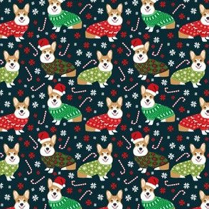 christmas corgi fabric cute corgi sweaters ugly christmas sweaters fair isle fabric cute christmas fabrics