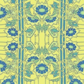 Minuet in Blue And Yellow