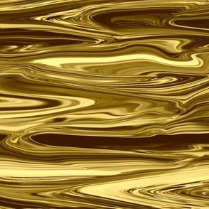 Liquid Gold Marbled, Large CW
