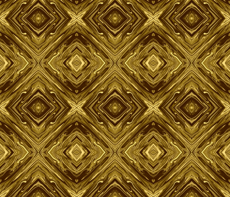 LG - Liquid  Gold Marbled,  Diamonds on Point,  Small fabric by maryyx on Spoonflower - custom fabric
