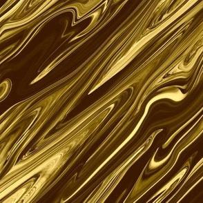 LG - Liquid Gold Marbled, Diamonds on Point, Large