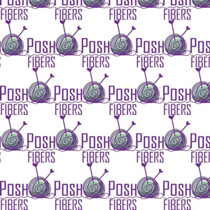 Posh Fibers Yarn Logo