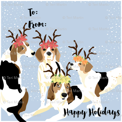 Coonhound Holiday