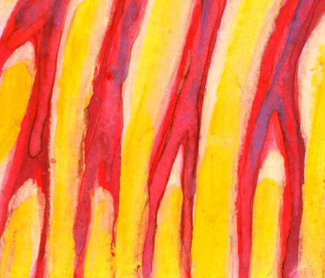 I Burn For You fabric by wojtekkowalski on Spoonflower - custom fabric