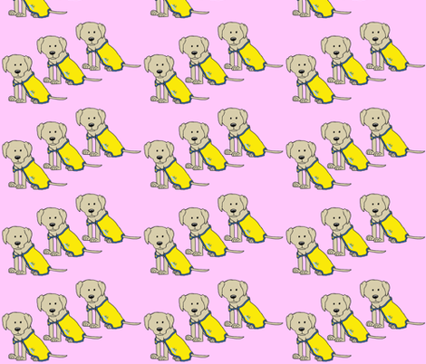 LTDS_Parker_cape_Pink fabric by cartoonist on Spoonflower - custom fabric