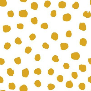 mustard dots yellow dots gold dots fabric cute baby girl fabric nursery baby fox girls