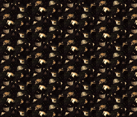 Jellyfish fabric by mscloud on Spoonflower - custom fabric