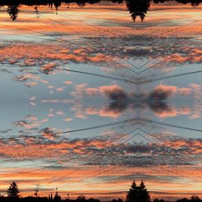 Suburban Sunset