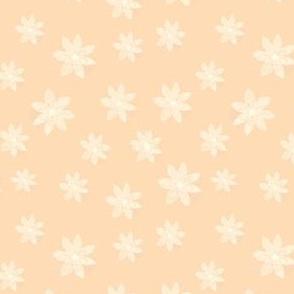 Peaches and Creamy Blossoms