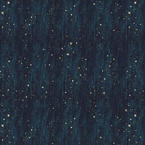 Horizontal Night Sky Stars Midnight Blue dark blue non-directional