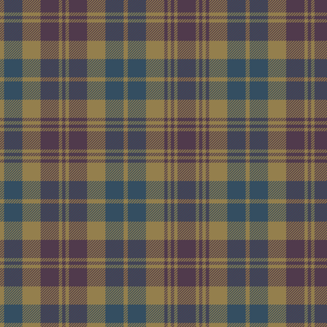 "Lovat Scouts tartan 6"" fabric by weavingmajor on Spoonflower - custom fabric"