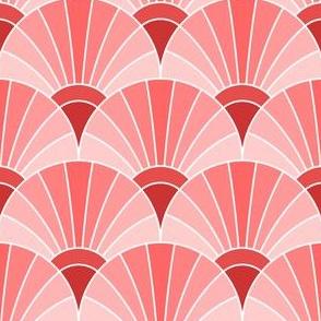 05868540 : fan scale : scarlet red rose
