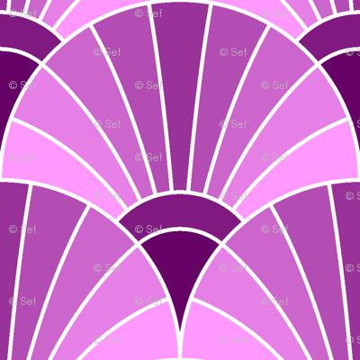 05868552 : fan scale : magenta purple