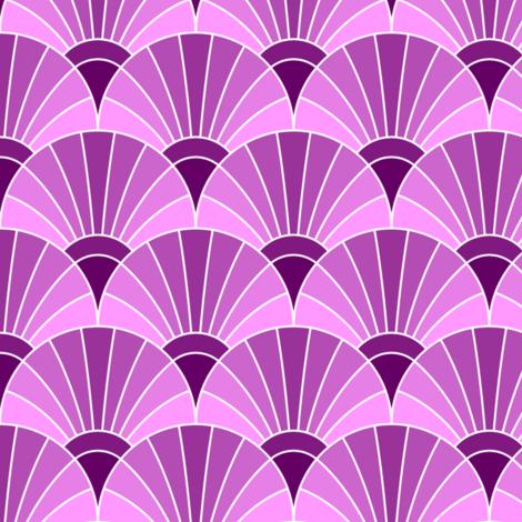 05868552 : fan scale : magenta purple fabric by sef on Spoonflower - custom fabric