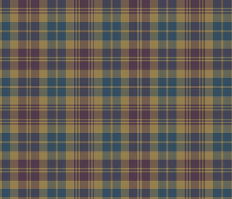"""Lovat Scouts tartan 10"""" fabric by weavingmajor on Spoonflower - custom fabric"""