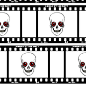 Skull Film Strip