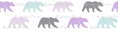 multi bear (small scale) || the lilac grove collection