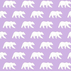 bear (small scale) lilac || the lilac grove collection
