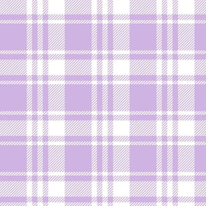 lilac plaid || the lilac grove collection