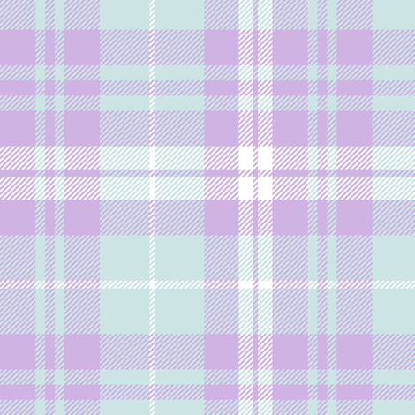 plaid lilac grove || the lilac grove collection fabric by littlearrowdesign on Spoonflower - custom fabric