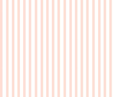 Light Pink Stripe  fabric by fraichebaby on Spoonflower - custom fabric